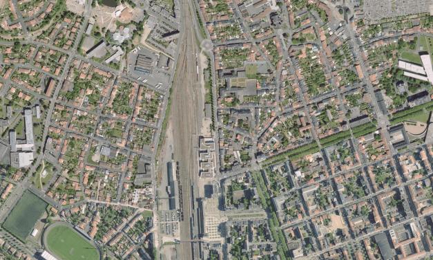 Requalification d'une friche RFF à la gare de La Roche-sur-Yon